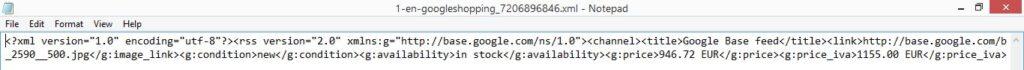 Facebook XML File too long 1
