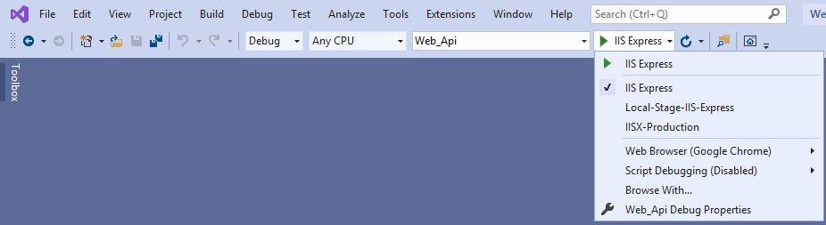 Run environment profile